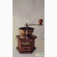 Ручная деревянная механическая кофемолка