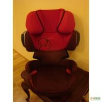 Продам автокресло Cybex Solution X2-Fix Poppy Red (2013) группа 2-3 (15-36 кг)