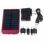 Зарядное устройство на солнечных батареях 2600мАч