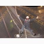 Сетка защитно-улавливающая для строек капрон