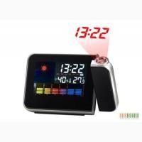 Многофункциональные часы с проектором времени