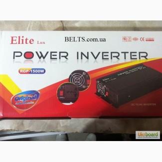 Автомобильный инвертор 1500 W Power Inverter ELITE lux 12/220v