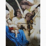 Картина вышитая бисеромПесня Ангелов