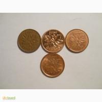 Канада-1 цент (4 разные)