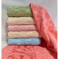Полотенца махровые упаковка 6шт