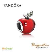 Оригинал Pandora Disney шарм яблоко 791572EN73