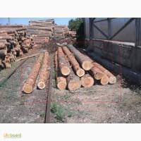 Продам бревна сосновые на стройматериалы в Одессе