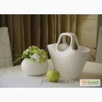 Керамические вазы, декор, подсвечники, статуэтки