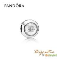 PANDORA шарм ― прозрачная капля 792095CZ