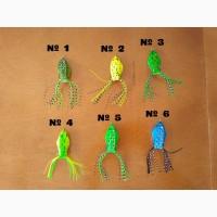 Лягушка незацепляйка на щуку с хвостиком 7 гр