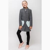 Пальто для девочки vpd-1 122-140 р разные цвета