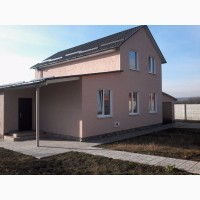 Новый дом с общей площадью 136 м2 и участком 15 соток