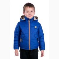 Двухсторонняя курточка для мальчика Малыш Весна 2018 разные цвета с 92-104 р