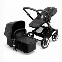 Bugaboo Buffalo Stroller - BlackShiny Chevron - D
