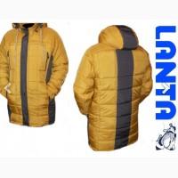 Мужская куртка удлиненная весна-деми парка код 114