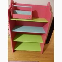 Этажерка для книг или игрушек детская Mothercare ELC, дитяча етажерка