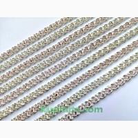 Цепи браслеты из серебра 925 пробы