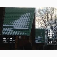 Снегозадержатель снегобарьеры снегоудерживающие барьеры на крыше от производителя в Киеве