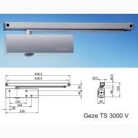 Доводчик дверей Geze TS 3000V скользящая тяга (EN 1-4)