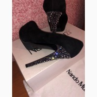 Замшевые туфли Nando Muzi