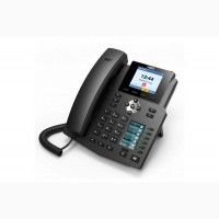 Fanvil X4SG, sip телефон 8 SIP аккаунта, аудио HD качества, PoE