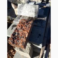 Бруківка пилено-колота 20х10х5 з капустянського гранітну