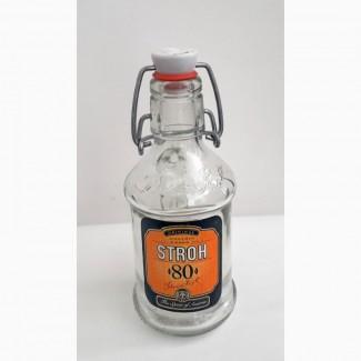 Бутылка от рома Stroh. 0.2л. Австрия