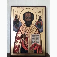 Писана ікона св. Миколая Чудотворця