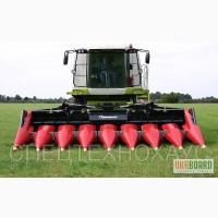 Жатки для уборки кукурузы и подсолнечника