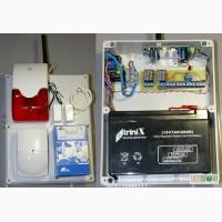 GSM сигнализация для дома, дачи, автономная, своими руками