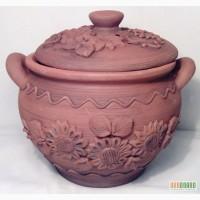 Глиняная посуда ручной работы. глиняные изделия