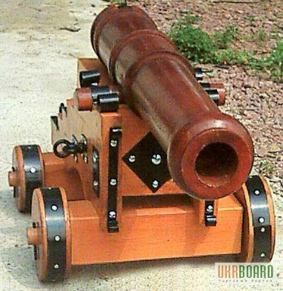 Деревянную пушку своими руками