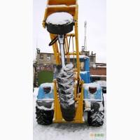 Ямобур на базе трактора Т-150К-09