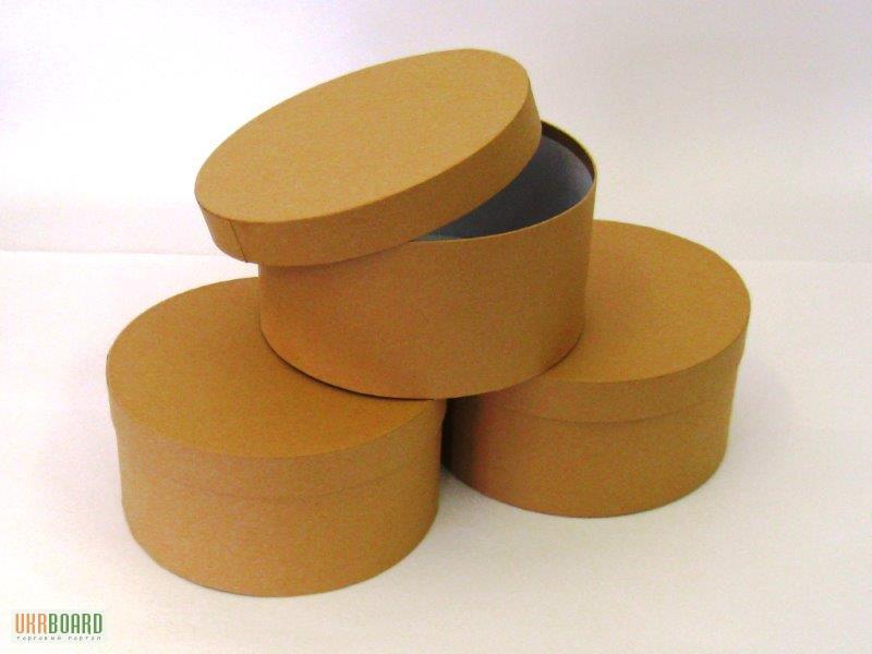 Производство круглых коробок из картона