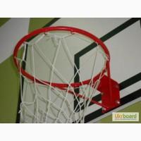 Щит баскетбольный с кольцом и сеткой, оборудование для баскетбола