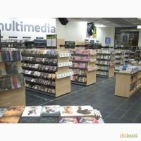 Продам торговое оборудование для магазинов книг и канцелярии