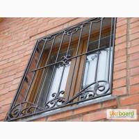 Металлические решётки на окна изготовление, монтаж цена Кривой Рог недорого