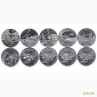 Монета Комплект из пяти монет - 5 гривен Евро-2012 Украина