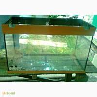 Продается немецкий аквариум на 140 л (стекло) б/у