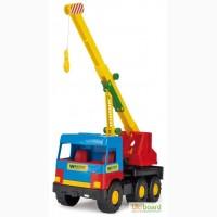 Машина Кран Middle truck, в пак. 35 16см, Тм Wader 39226