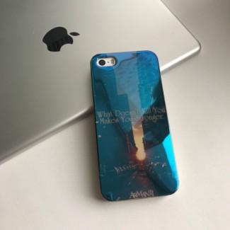 Силиконовый чехол Blu-Ray на iPhone 5/5S