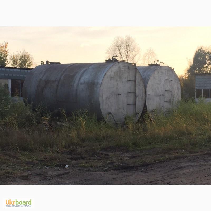 Фото 8. Резервуары, емкости, бочки металлические б.у.цистерны, ресивера и мн.др. 1-100 куба
