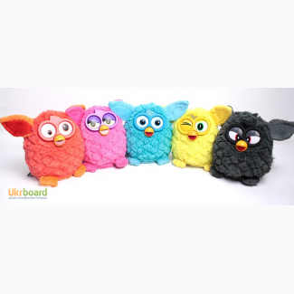 Милая интерактивная игрушка Furby
