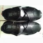 Стильные мужские сандалии чёрные BERTONI 40, 41, 42, 43, 44, 45р