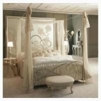 Кровать кованая с балдахином Новелла