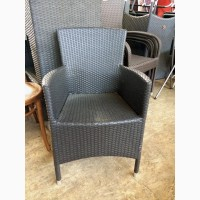 Кресла для террас кафе, баров, ресторанов из ротанга БУ. Распродажа