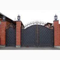 Ворота с профлиста, ворота с калиткой