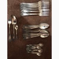 Продаю столовое серебро МНЦ (полный набор)