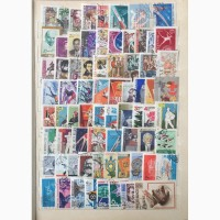 Альбом с марками СССР 61-91гг, около 2000 шт, без повторов+бонус блоки