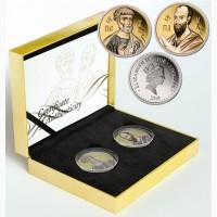 Набор серебряных монет Святые апостолы Петр и Павел